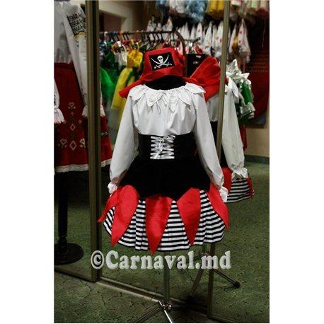 Costum de carnaval Pirat pentru fetita 3006, 3007