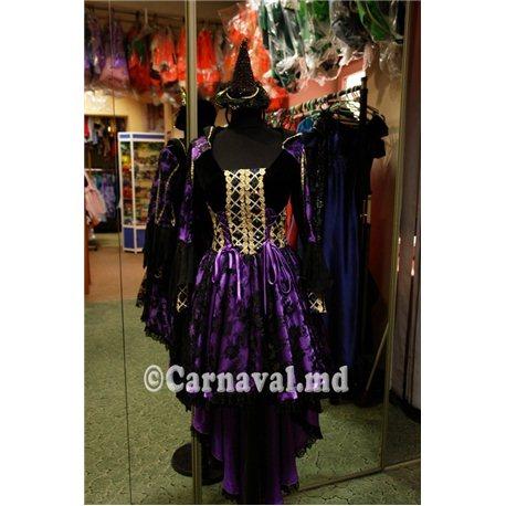 Взрослый, карнавальный костюм Ведьма 1738