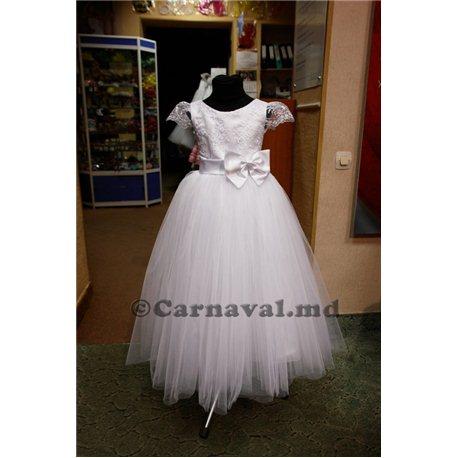 Rochiţă albă pentru fetiţă 2424