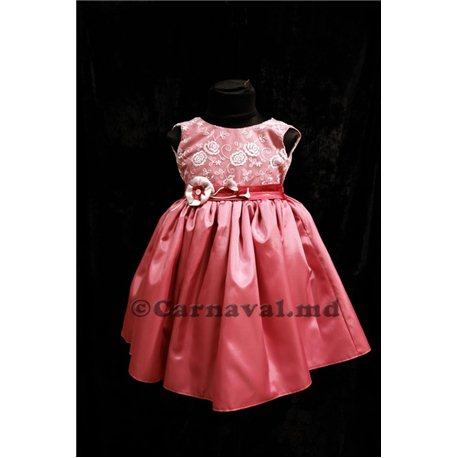 Розочка сложно-розовое р.98-104, 7015