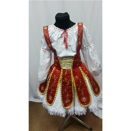 Национальный костюм Exclusive девочка 9-10 лет (блузка ,сарафан,юбка)