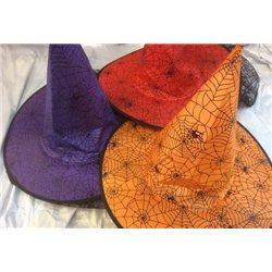 Шляпа ведьмы разных цветов10921