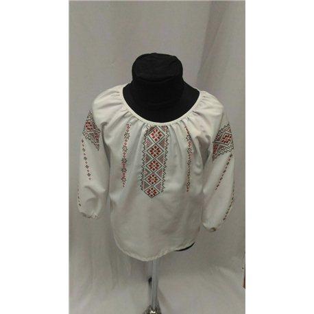 Национальная блузка девочка 8839 5-6 лет