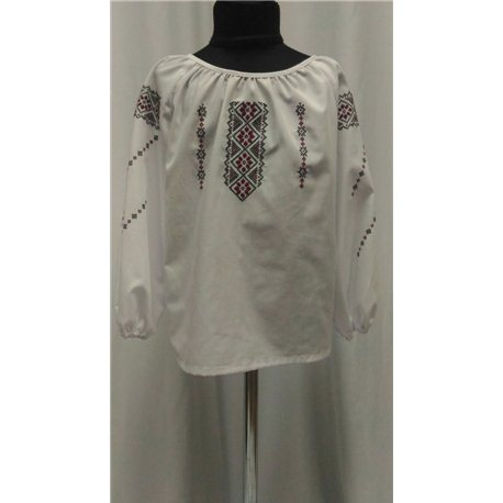 Национальная блузка девочка8838
