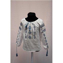 Национальная блузка девочка8835