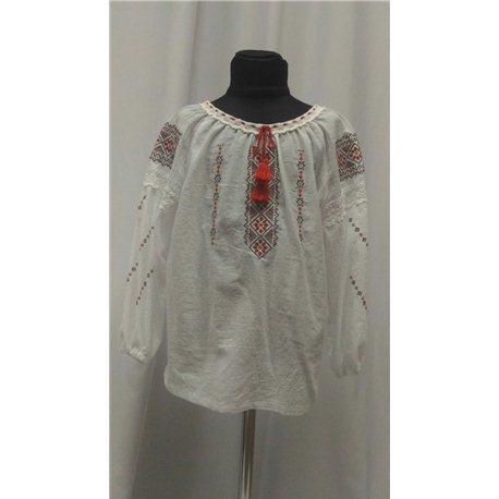 Национальная блузка девочка8845
