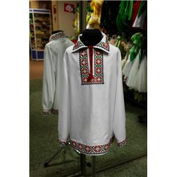 Национальная рубашка 7-8 лет 1514