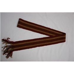 Национальный Пояс коричневый 7905