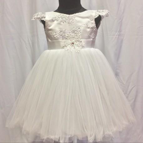 Платье Милены, белое