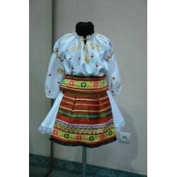 Costum national moldovenesc pentru fetite 5-6 ani 4821