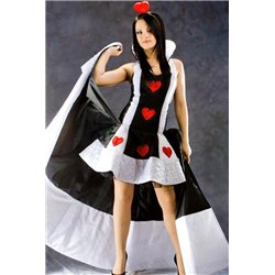 Costum de Carnaval pentru Adulti Regina Inimilor 1375