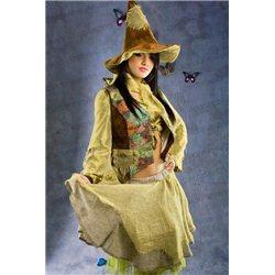 Costum de Carnaval pentru Adulti Vrăjitoare, Baba Cloanţa 3515