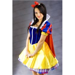 Costum de Carnaval pentru Adulti Alba ca Zăpada 3569