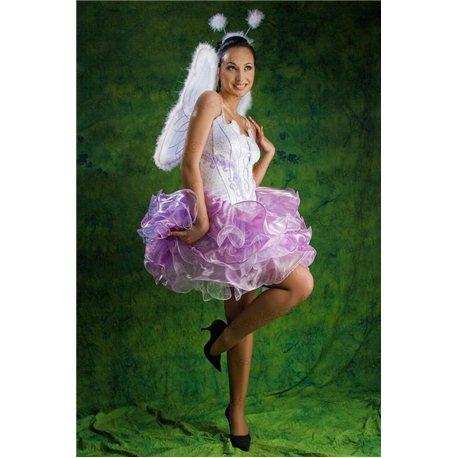 Costum de Carnaval pentru Adulti Elf, Liliac 2119
