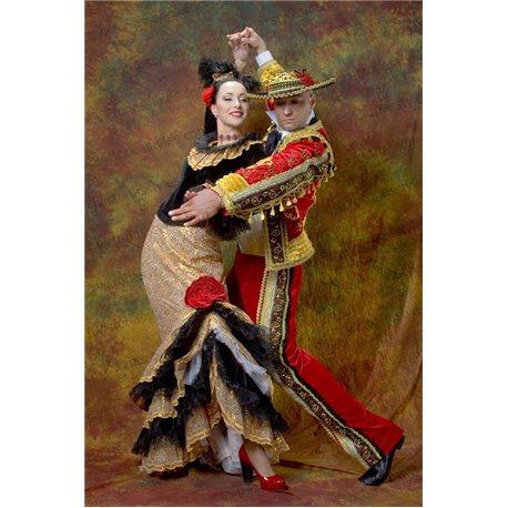 Costum de Carnaval pentru Adulti Spaniol 2366