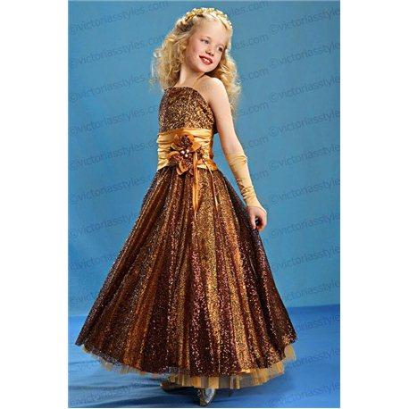 Нарядное платье для девочки, Осень 2338