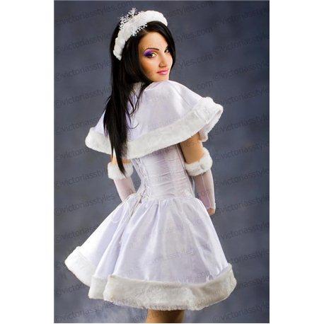 Costum de Carnaval pentru Adulti Alba-ca-Zăpada 3586
