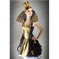 Взрослый Карнавальный Костюм Шахматная Королева 2946
