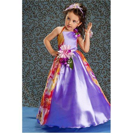 Праздничное платье для девочки Весна 1502