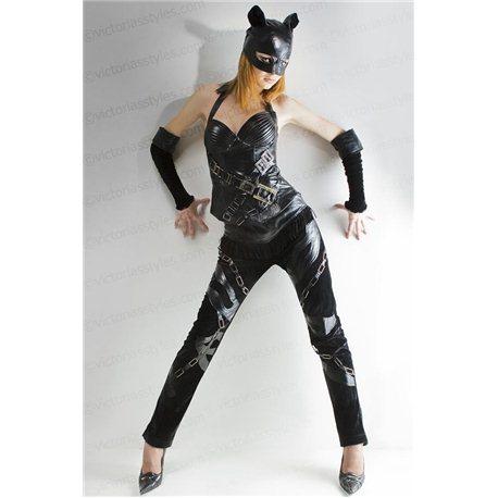 Взрослый Карнавальный Костюм Женщина Кошка 2944