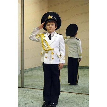 Costum de Carnaval pentru copii Admiral, Căpitan 0028