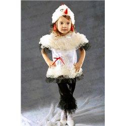 Costum de Carnaval pentru copii Barză, Găinușă 3130, 3123
