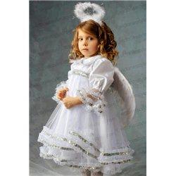 Детский карнавальный костюм Ангел для девочки 2709, 3358