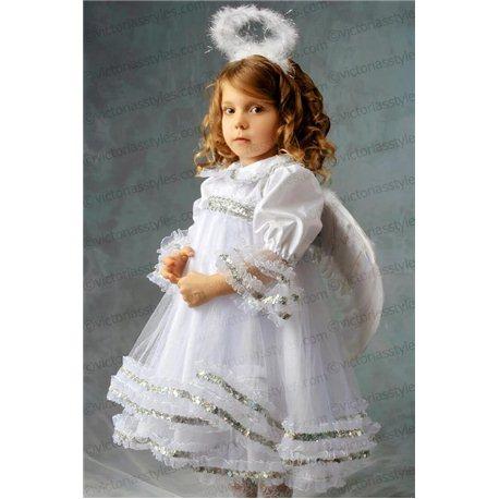 Costum de Carnaval pentru copii Înger, Îngeraș 2709, 3358
