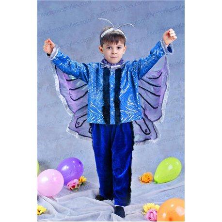 Детский карнавальный и маскарадный костюм Бабочка, Мотылёк 3341