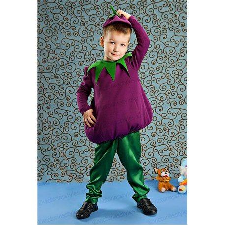 Детский карнавальный костюм Баклажан 3877