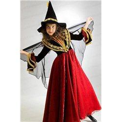 Детский карнавальный костюм Ведьма, Колдунья 2422