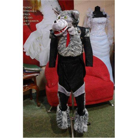 Детский карнавальный костюм Волк 0079, 0078
