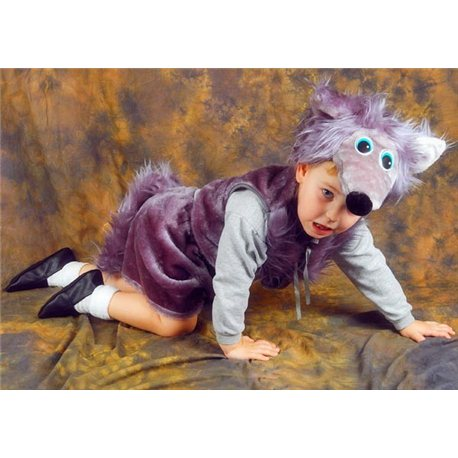 Детский карнавальный костюм Волк 0723, 0725, 0727, 0728, 0736, 0737, 0741, 0793