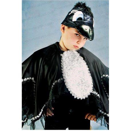 Costum de Carnaval pentru copii Cioară, Corb 2447