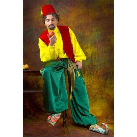 Costum de Carnaval pentru Adulți Ali-baba, Aladin roșu 2635