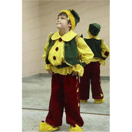 Детский карнавальный костюм Гном 0001