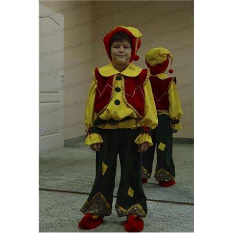 Детский карнавальный костюм Гном 0137