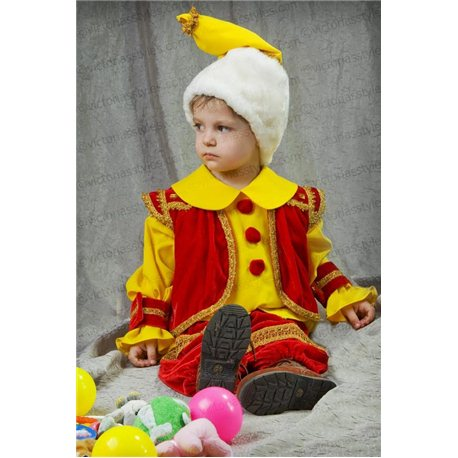 Детский карнавальный и маскарадный костюм Гном на 3 года 1028