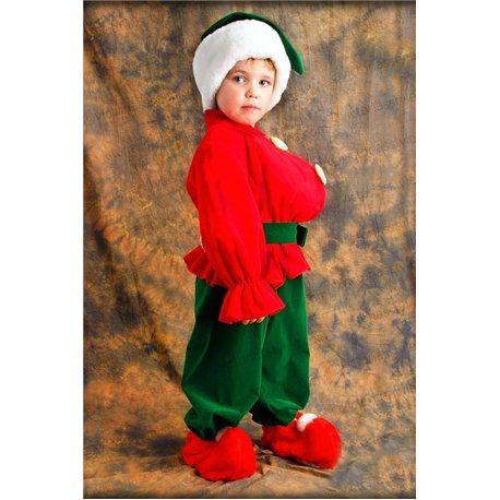 Costum de Carnaval pentru copii Pitic, Spiriduș 2706, 3629, 0136