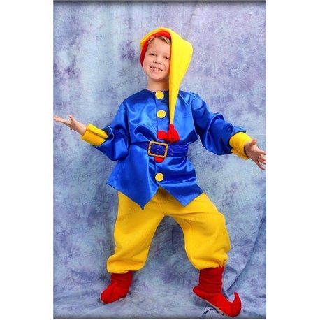 Costum de Carnaval pentru copii Pitic, Spiriduș 0138