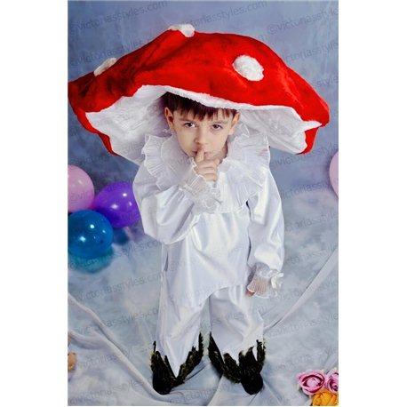 Детский карнавальный костюм Гриб, Мухомор 2103, 0396