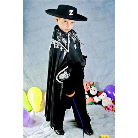 Costume de Carnaval pentru copii Zorro 2430, 2429, 4804