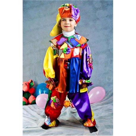 Детский карнавальный костюм Клоун 3147