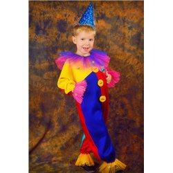 Детский карнавальный костюм Клоун, Шут, Арлекин 0129