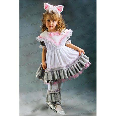 Costume de Carnaval pentru copii Pisică, Iepuraș, Șoricel 3330