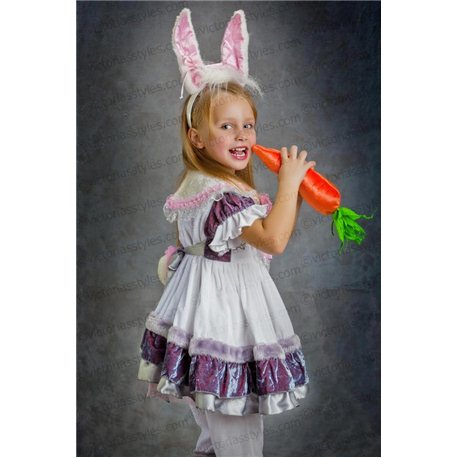 Детский маскарадный костюм Кошечка, Зайчик, Мышка 3197