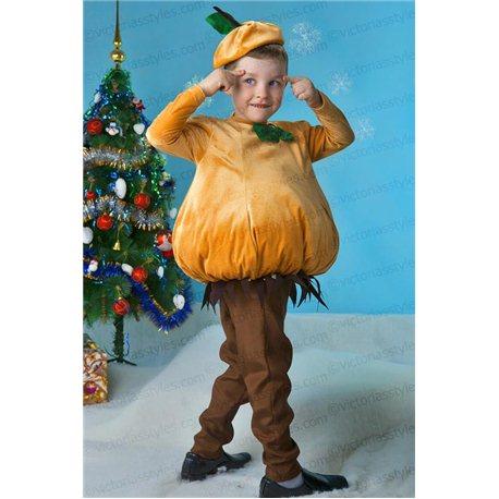 Детский карнавальный и маскарадный костюм Лук, Тыква, Груша, Чиполлино 3880, 3883