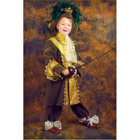 Детский карнавальный костюм Король Людовик XIV 0023