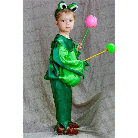 Costum de Carnaval pentru copii Broscuță 2776, 2920, 2919