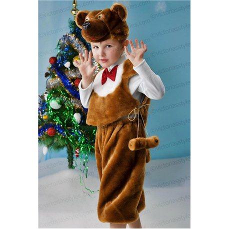 Медведь меховый 3393